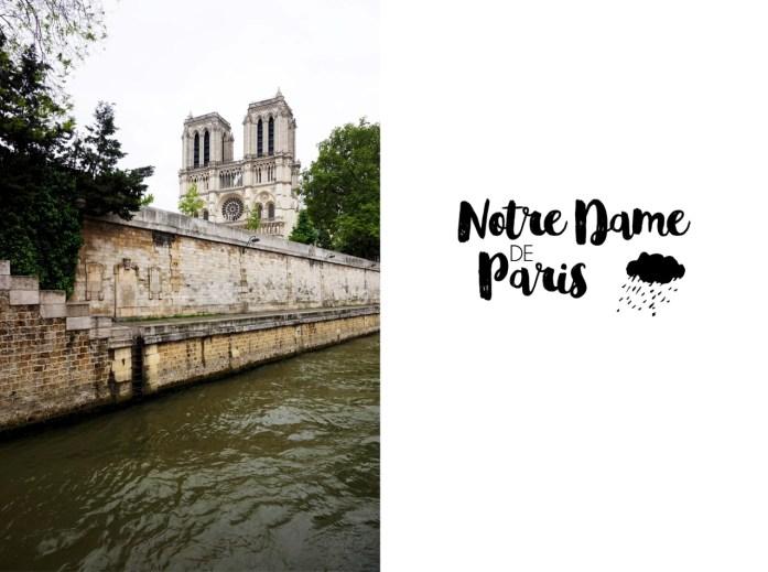 Croisière sur la Seine - Bateaux Parisiens - Notre Dame de Paris