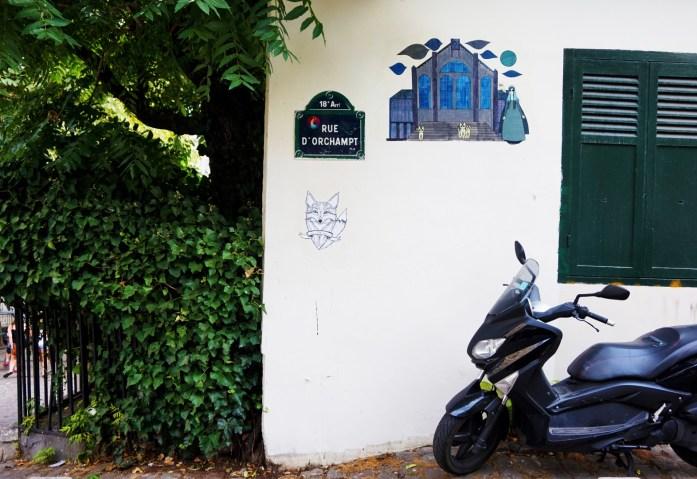 Balade dans le 18e - Quartier de Montmartre