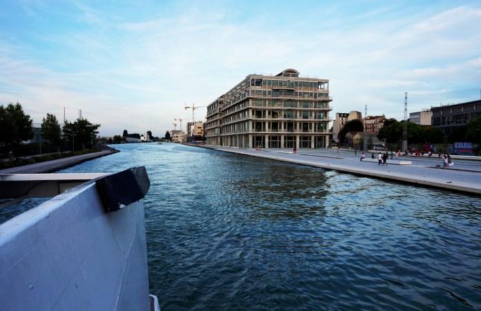 Croisière sur le Canal de l'Ourcq
