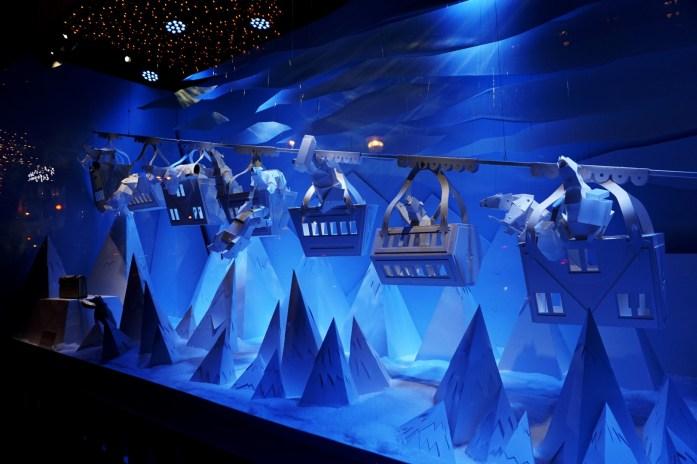 Vitrines de Noël 2016 - Galerie Lafayette
