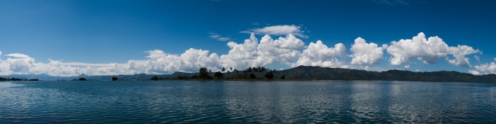 Panorama sur le Lac Toba