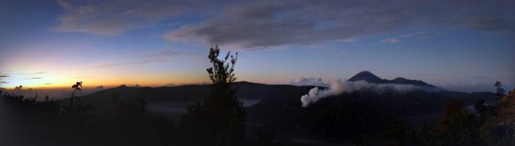 Bromo - Panorama à l'aube
