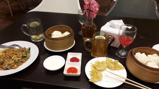 Au menu : dumplings et baos