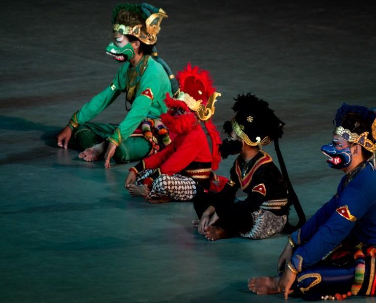 Certains danceurs sont vraiment jeunes !