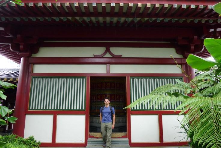 Buddha Tooth Relic temple - Jardin