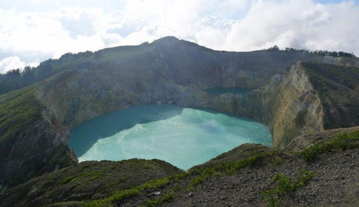 Kelimutu - lacs Tiwu Nuwa Muri Koo Fai et Tiwu Ata Polo.