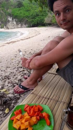 Petit-déj sur Koka Beach