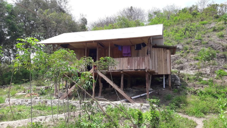 Notre bungalow, à quelques pas de la plage