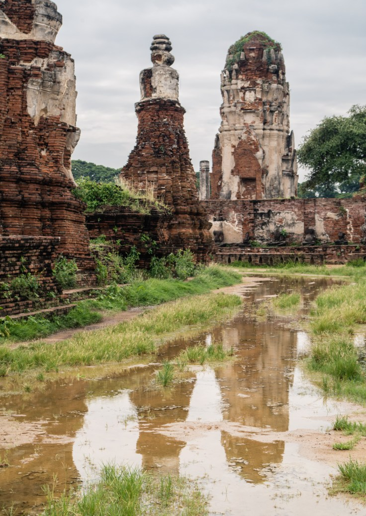 Ayutthaya Ratchaburana inondation
