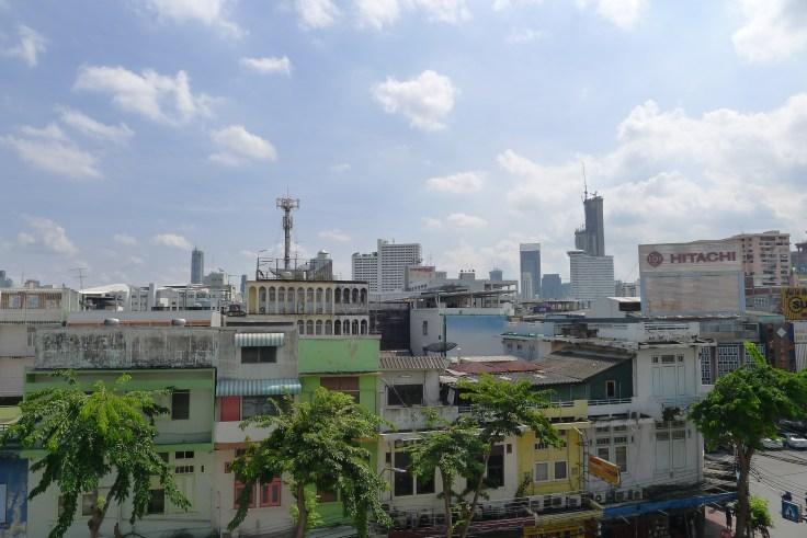 Bangkok - La vue du depuis le Wat Trai Mit