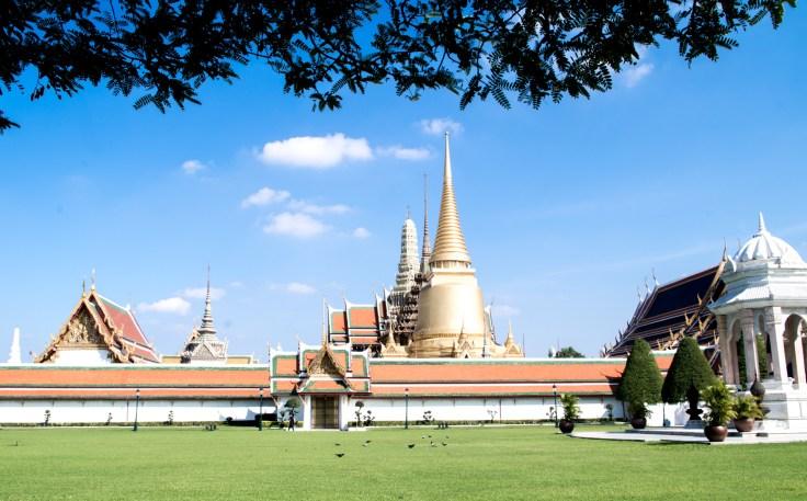 Bangkok - Enceinte du Palais Royal