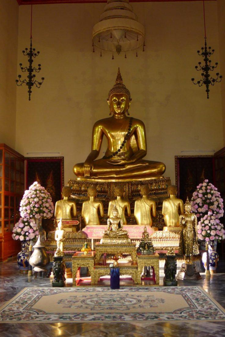 Wat Pho - Bouddha assis