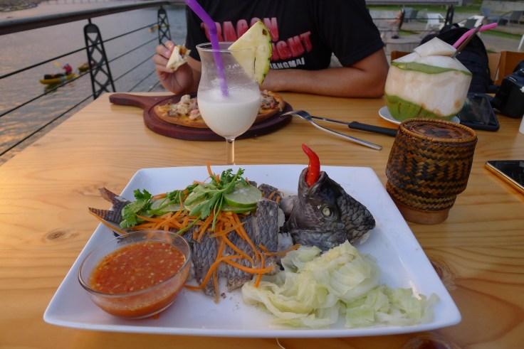Laos - Vang Vieng - Inthhira VV Hotel - Fish