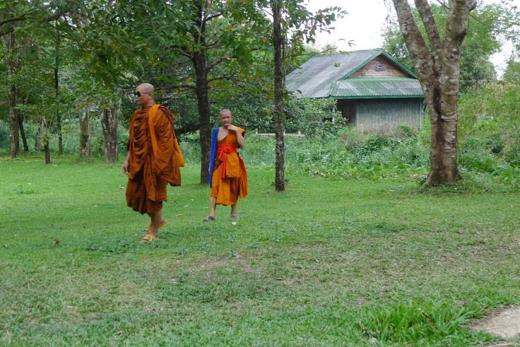 Laos - Vang Vieng - Tham Chang Monks
