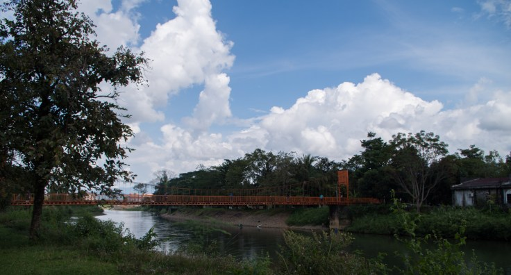 Laos - Vang Vieng - Red Bridge