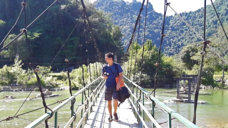 Laos - Vang Vieng - Bridge Damien