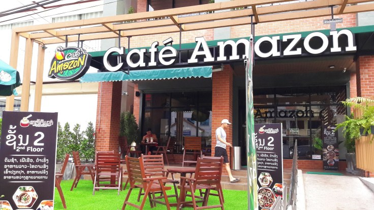 Laos - Vientiane - Café Amazon