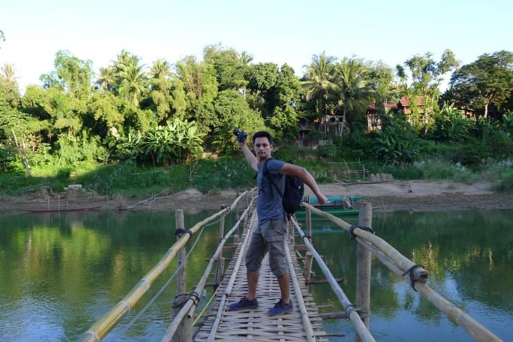 Luang Prabang - Nam Khan River Bridge