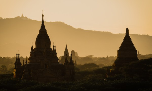 Bagan - Sunset
