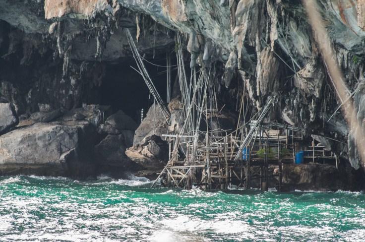 Thailande - Ao Nang - croisiere - cave viking