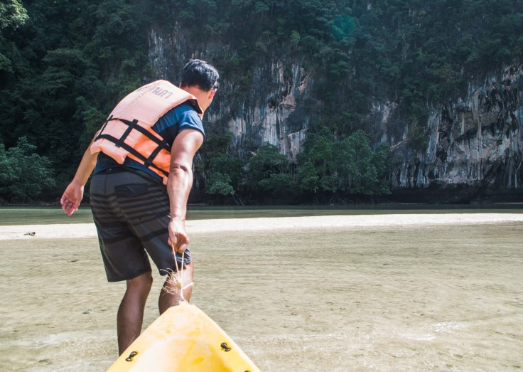 Thailande - Koh Hong - Kayak - lagon