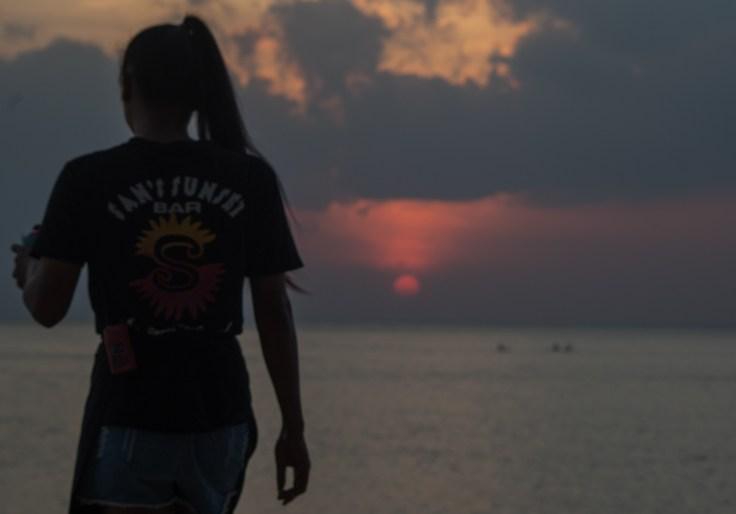 Thailande - Koh Lanta - Coucher soleil - bar