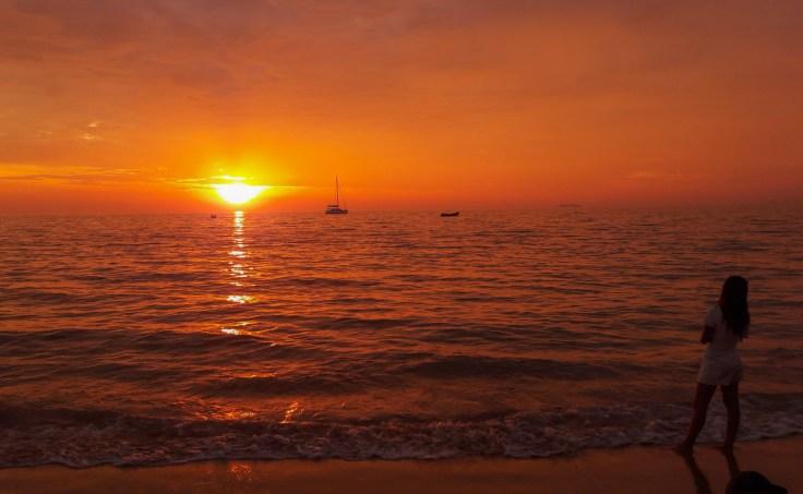 Thailande - Koh Lanta - coucher soleil - plage
