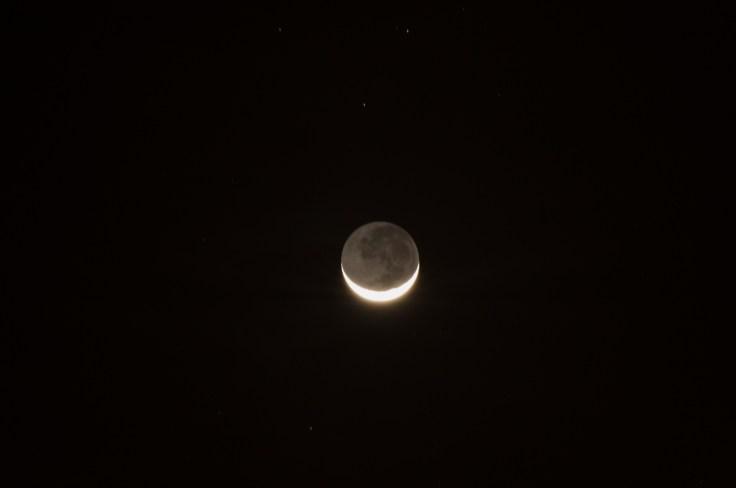 Thailande - Koh Lanta - Lumiere cendree - Earthshine - lune