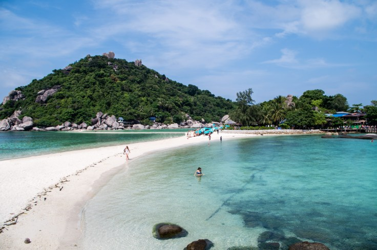 Thailande - Koh Nangyuan - Plage