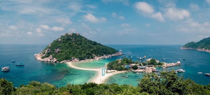 Thailande - Koh Nangyuan - Point de vue - panorama