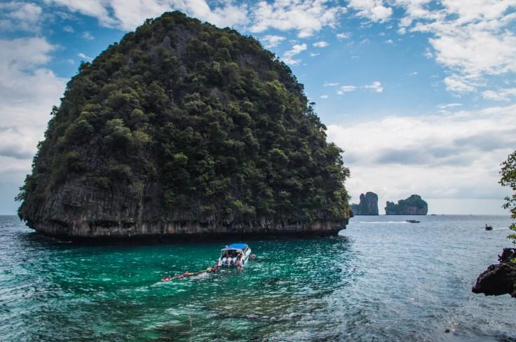 Thailande - Koh Phi Phi Ley - Loh Samah Bay - Bateau snorkeling