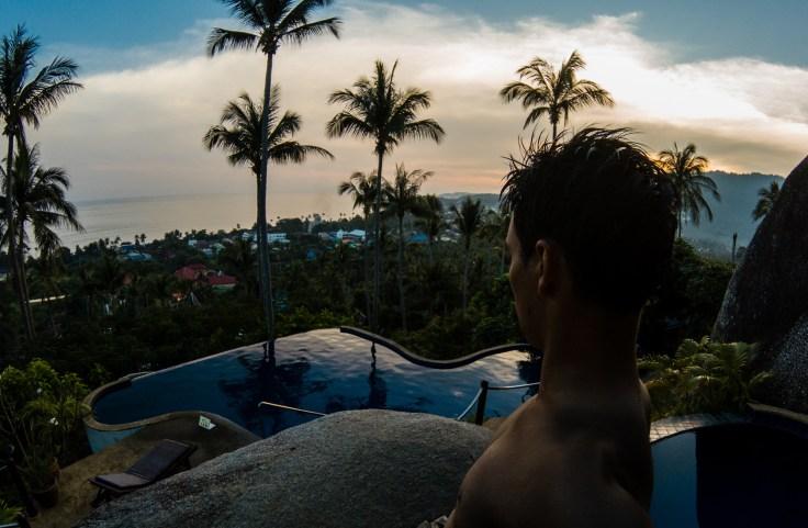 Thailande - Koh Samui - Coucher soleil - Damien