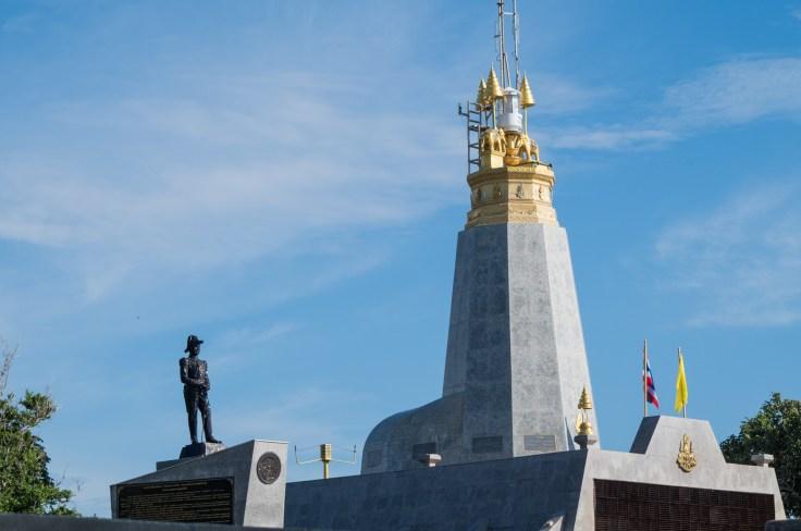 Thailande - Phuket - Promthep Cape - Krom Luang Chumphon monument
