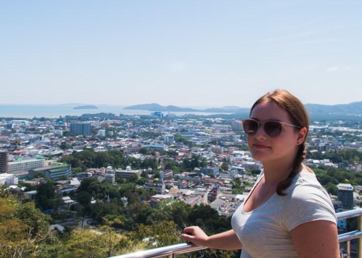 Thailande - Phuket - Khao Rang - Point de vue - Ariane