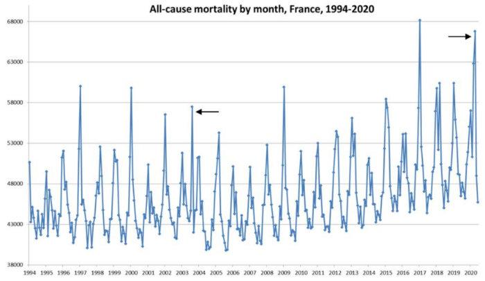mortalité covid