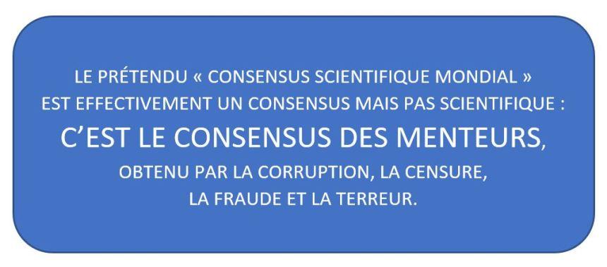 [Le prétendu «consensus scientifique» (qui légitime toutes les mesures politiques de persécution) est FAUX, TRUQUÉ, FORCÉ : c'est bien un consensus mais un consensus de tricheurs – Exemples récents de la corruption générale de la science médicale] «Au nom de la science. La science peut-elle servir de guide à notre société?» Par Maxime Langevin, chez Laurent Mucchielli