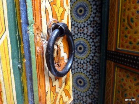 Detail-porte-riad-Fès