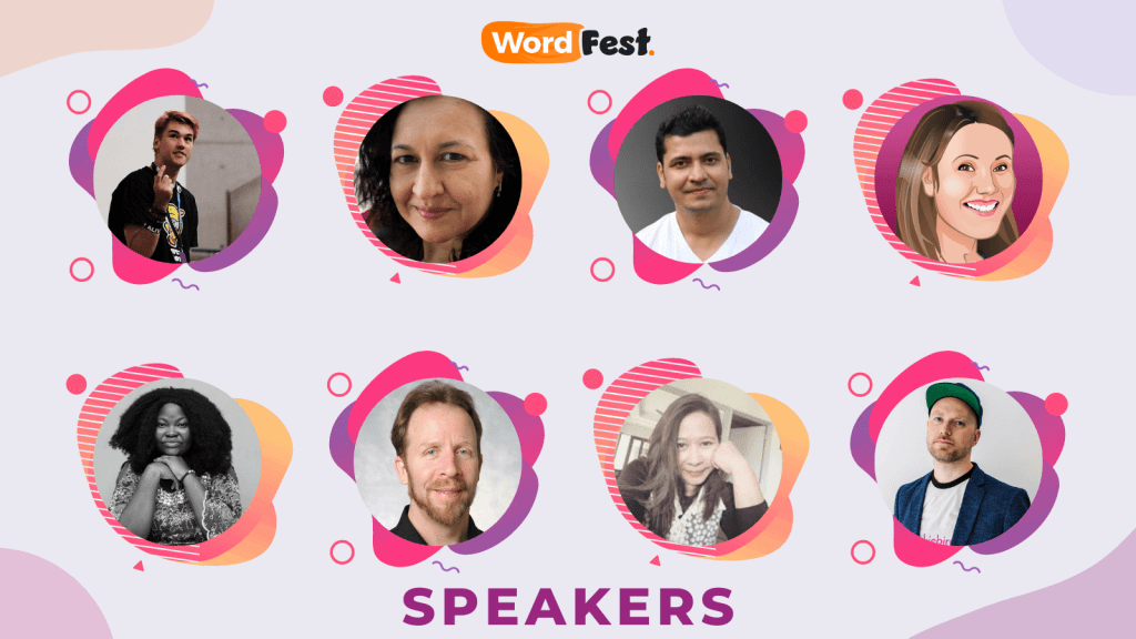 WordFest Speaker Batch 2