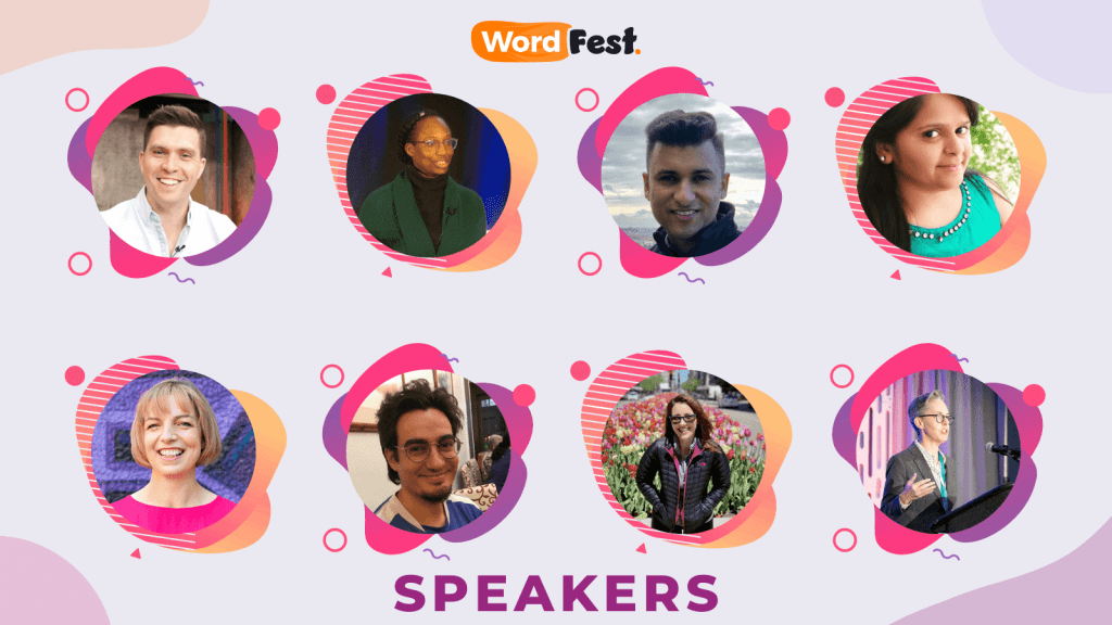 WordFest Speaker Batch 5