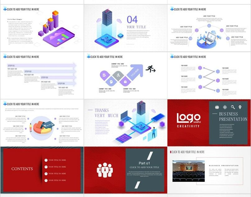 best annual charts powerpoint templates download on