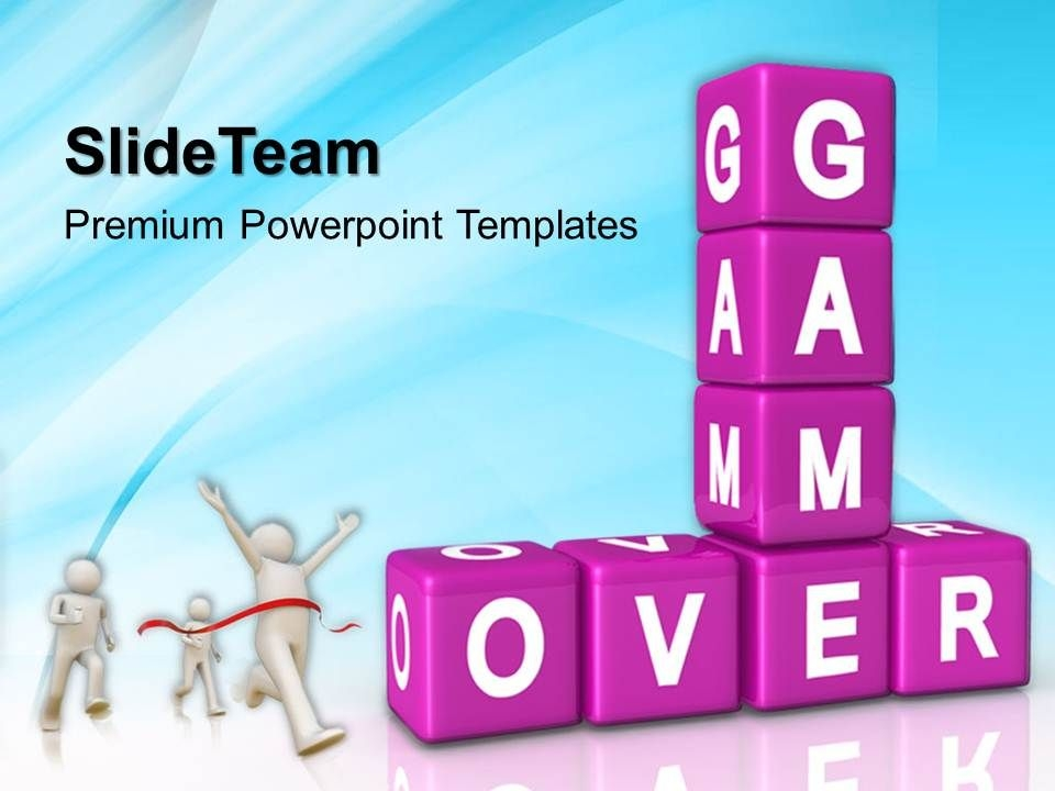 the strategy game powerpoint templates over success ppt