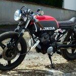 Une Honda Cb 125 Twin Cafe Racer A La Sauce Vini Garage Company