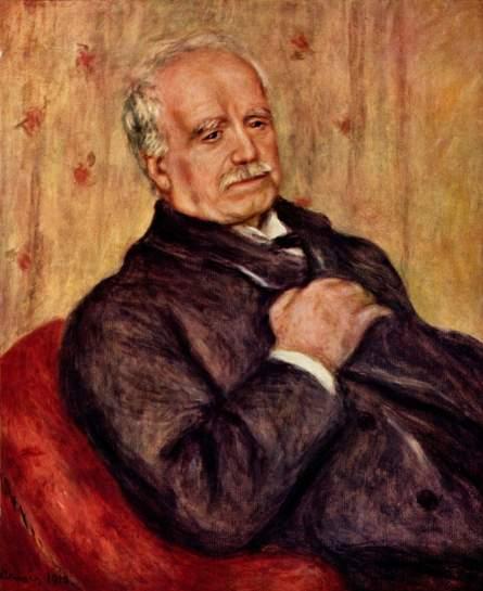 Pierre-Auguste Renoir, Paul Durand Ruel, 1910, Huile sur toilr, 65x54cm, Collection Durand-Ruel