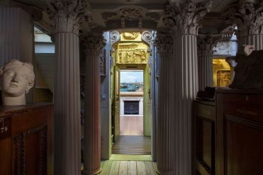 Sir John Soane Museum, a view of the Picture Room. Photo : Derry Moore