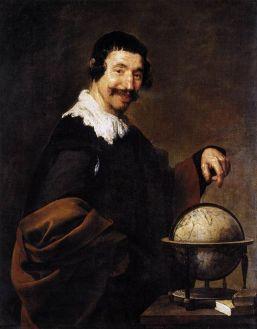 Velázquez, Démocrite, vers 162§ - vers 1638, Rouen, musée des Beaux-Arts