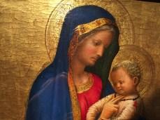 Masaccio, vierge à l'Enfant, vers 1426-1427, Gallerie des Offices