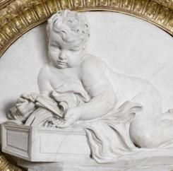 Le Bernin (et son fils), L'Enfant Jésus jouant avec un clou, Paris, musée du Louvre.