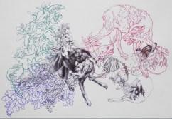 Esquisse d'après les dessins d'Oudry, Julien Salaud