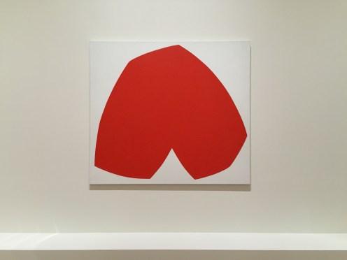 Ellsworth Kelly, Red White, 1962, SFMOMA