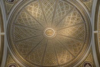Plafond de la Sala della Niobe, 1781, Florence, Galerie des Offices. © Damien Tellas